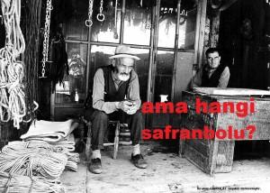Safranbolu.Şehir.1960-1970 li yıllar — Rahmetli Ovalı Mehmet Amca ve Rahmetli Saraç Gecegözü Amca